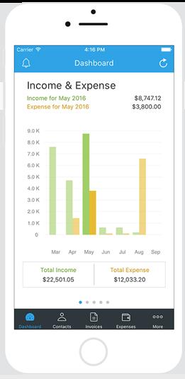 Invoice app for iphone - Zoho Invoice