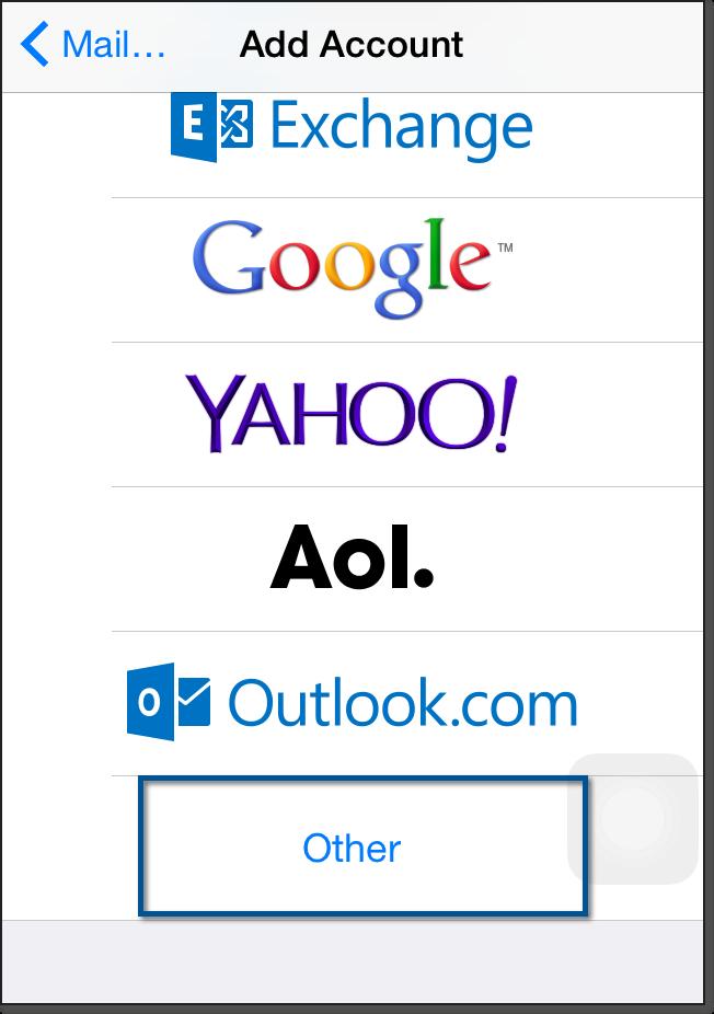Zoho mail account as imap on iphone ipad oneeach technologies provide stopboris Gallery