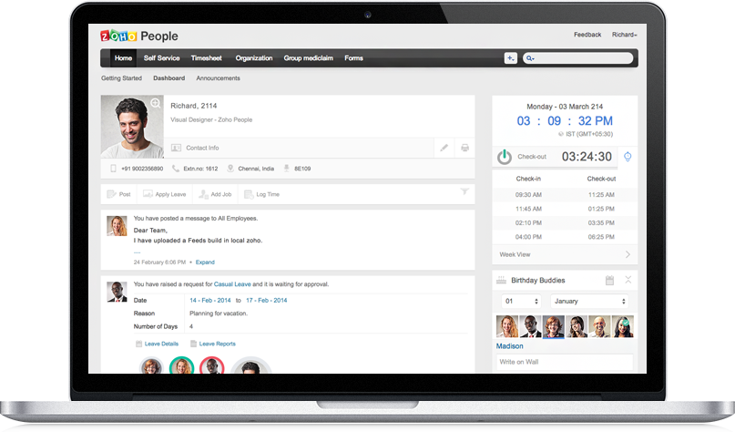 online human resources software