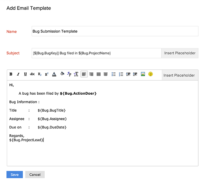 how to create an email template html