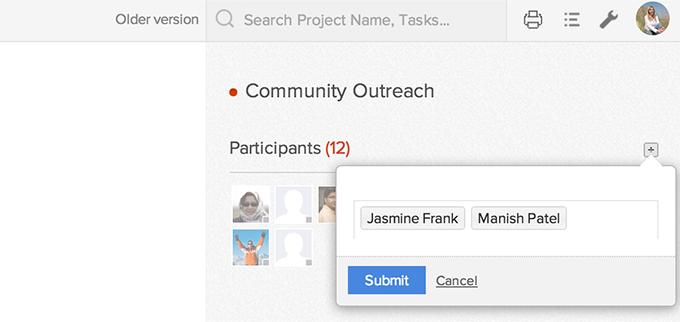 Add Participants