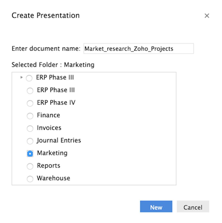 create-presentation