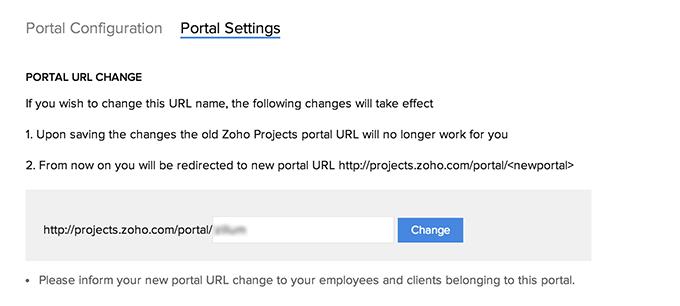 Portal-url