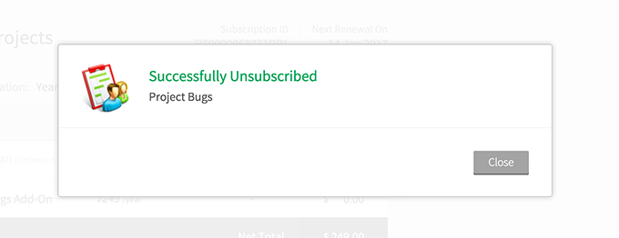 unsubscribe-message