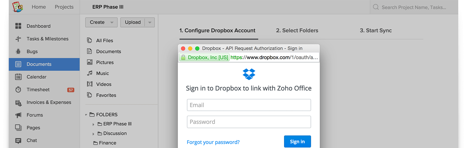 Bring Files into Zoho in a Snap