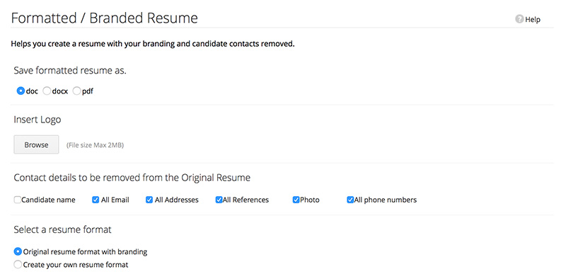 features for applicant tracking system zoho recruit