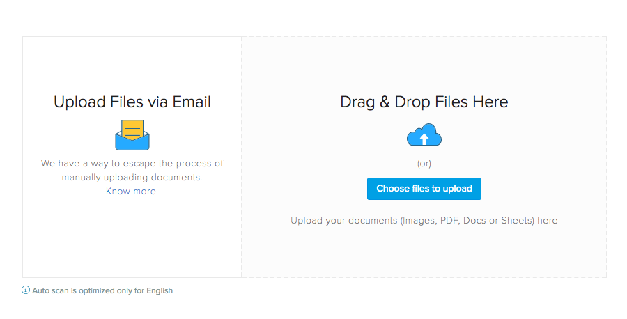 Upload docs