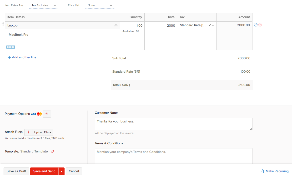 images of invoices