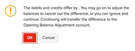 Opening Balances