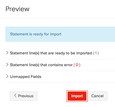 Import Statement