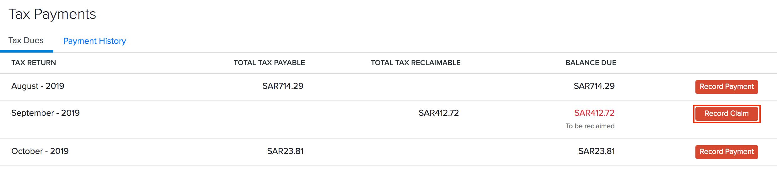 Accountant Tax Claim