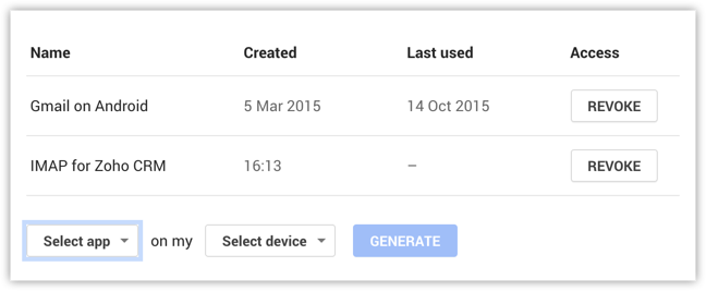 IMAP Configuration | Online Help - Zoho SalesInbox