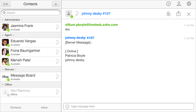 View Members of a Chat