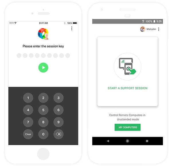Zoho Assist Mobile Apps