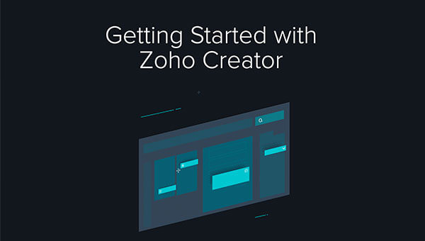 Getting started with Zoho Creator