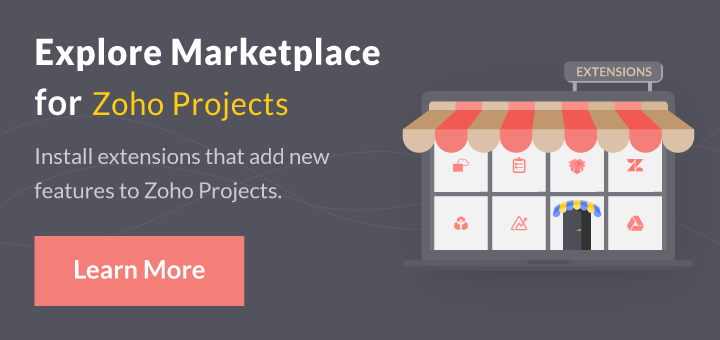 Zoho Projects Pricing plans : Free for 5 users