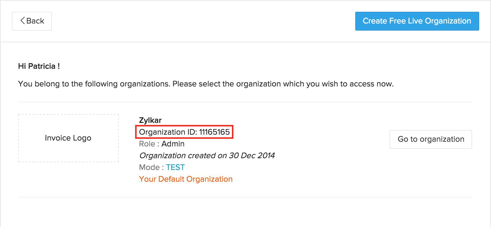 subscriptions api doc organization id