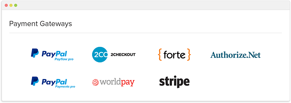 Credit card, ACH and offline payment modes  Zoho Subscriptions