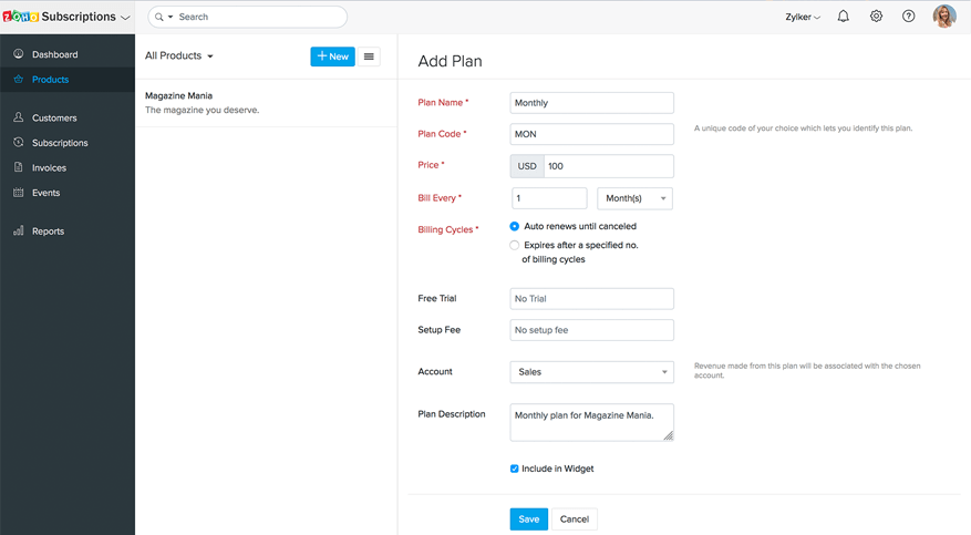 How to add pricing plans