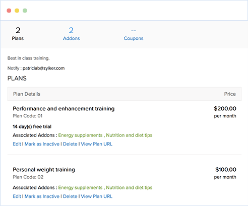 Get flexible with pricing plans and trials