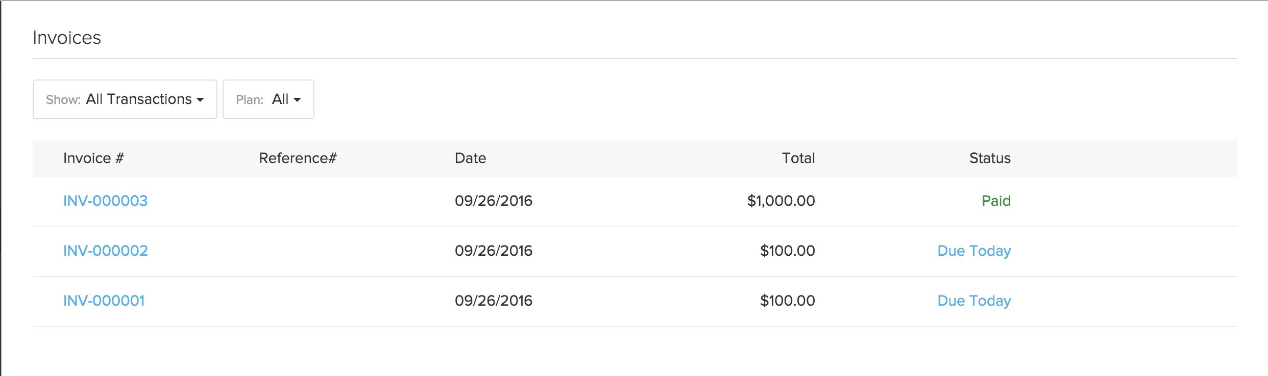 Invoices 1