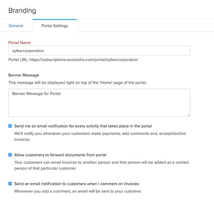 Setup client portal 1
