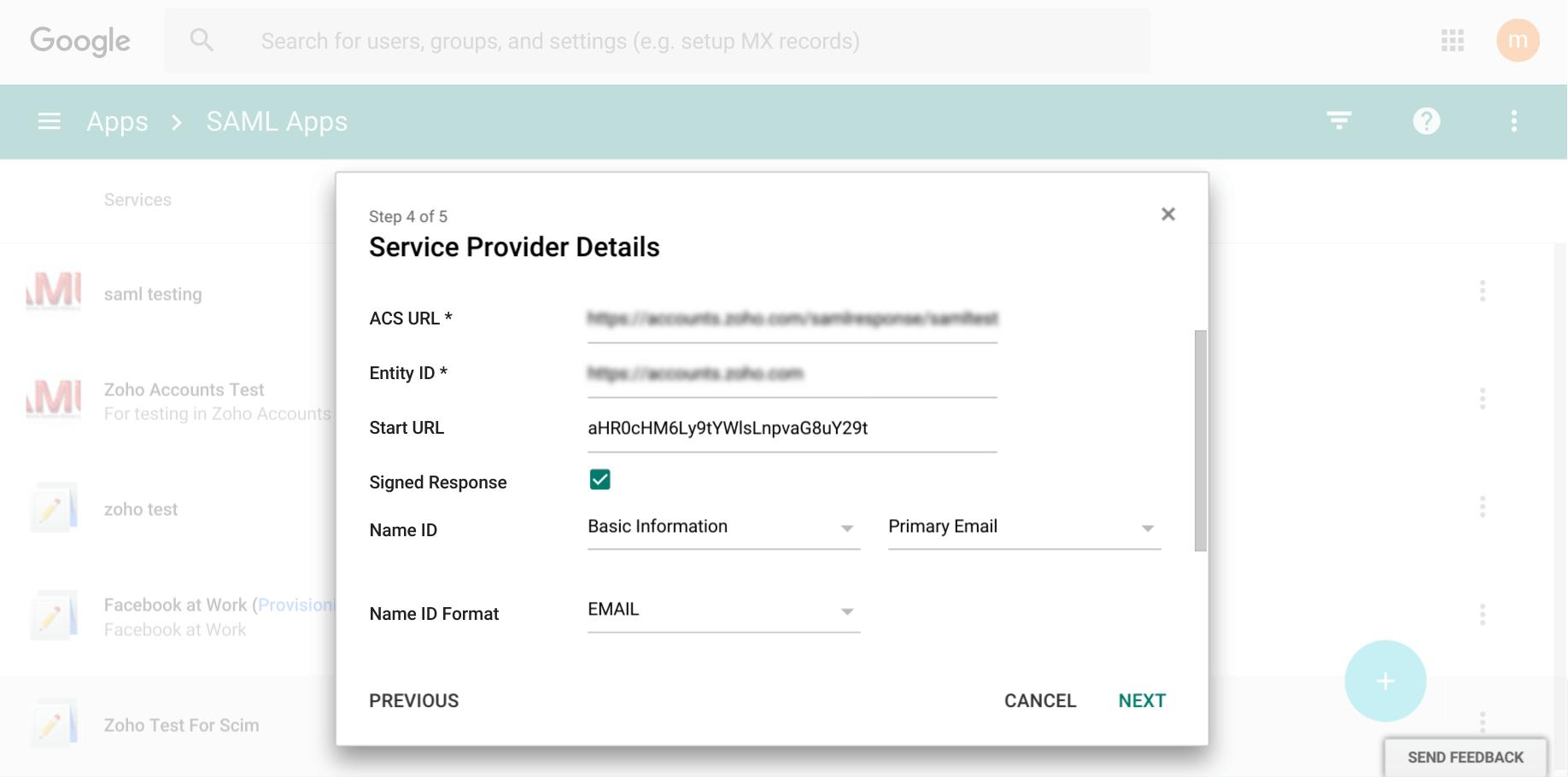 Google service provider