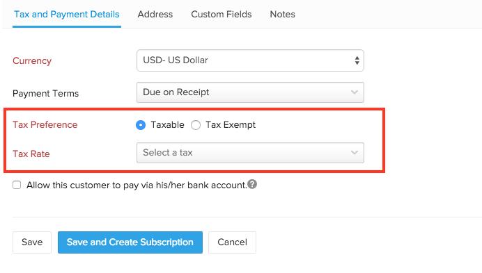 Associating Tax