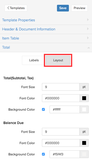 Templates - Help doc | Zoho Subscriptions