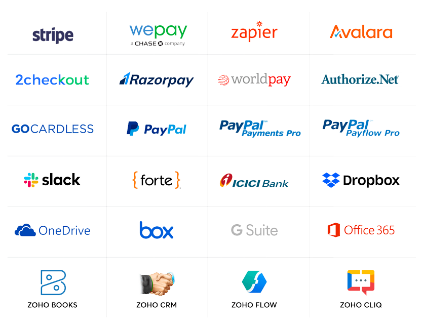 Zoho Subscriptions Integration