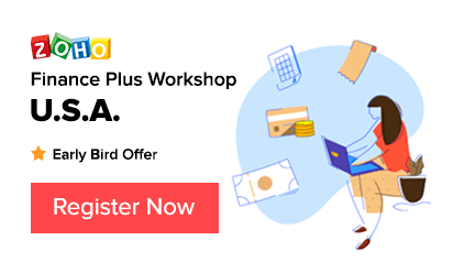 Zoho Finance Workshop - Australia