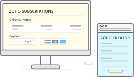 zohocreator-subscription-and-hostedpages-creation