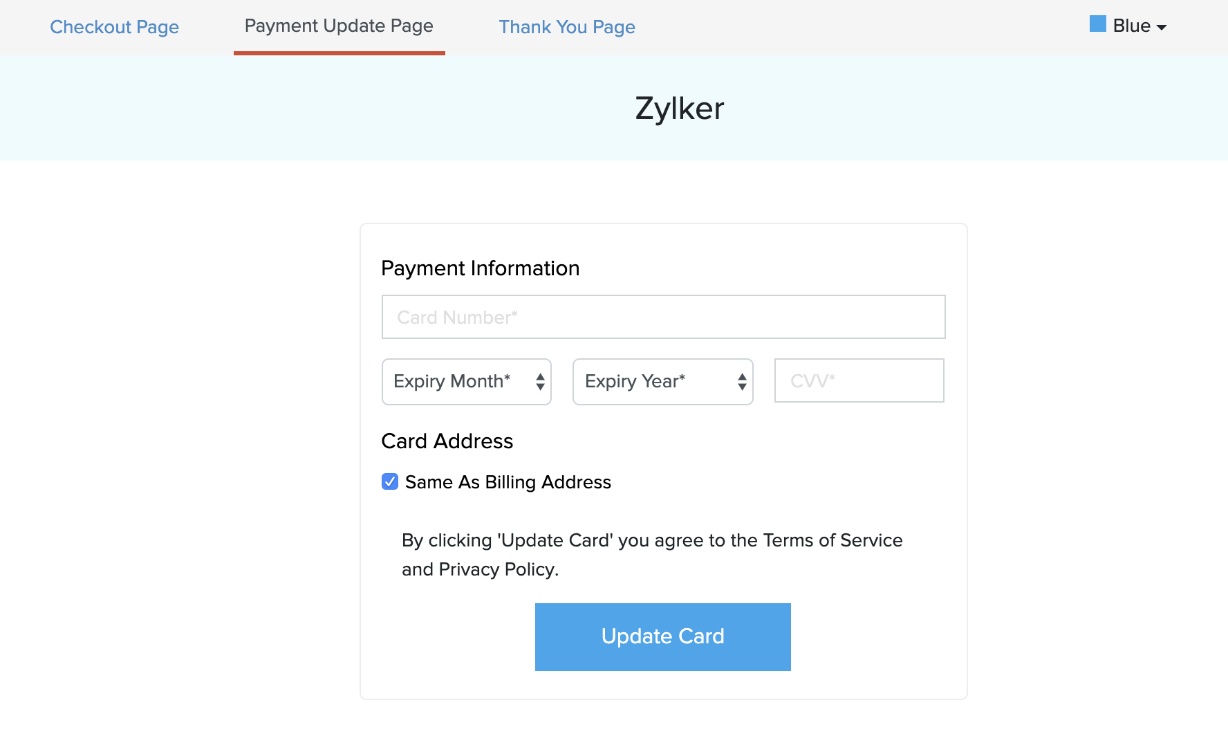 Hosted Payment Pages Update