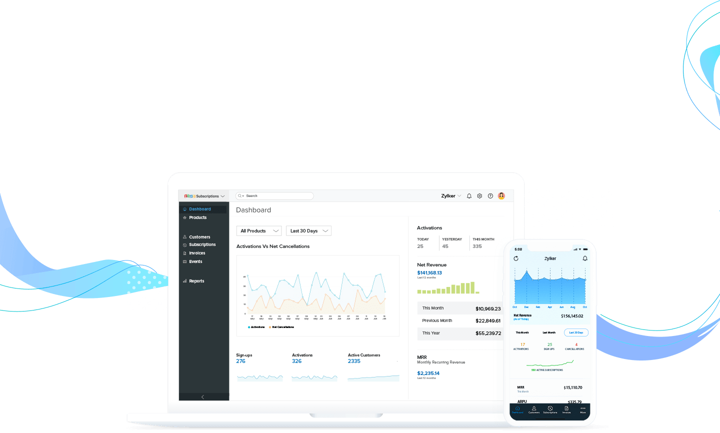Zoho Subscriptions Paypal Integration