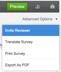 do more with your surveys with advanced options