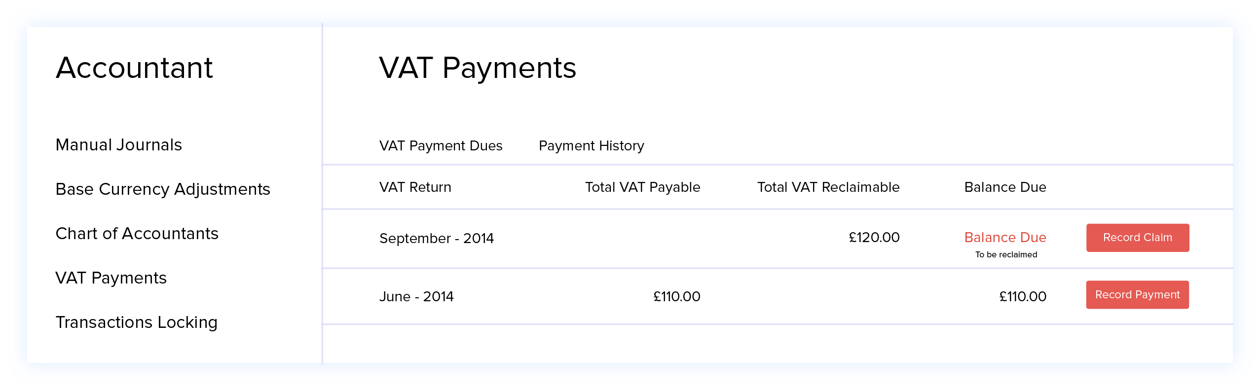 VAT Payments - VAT Accounting Software | Zoho Books