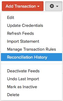 Reconciliation History