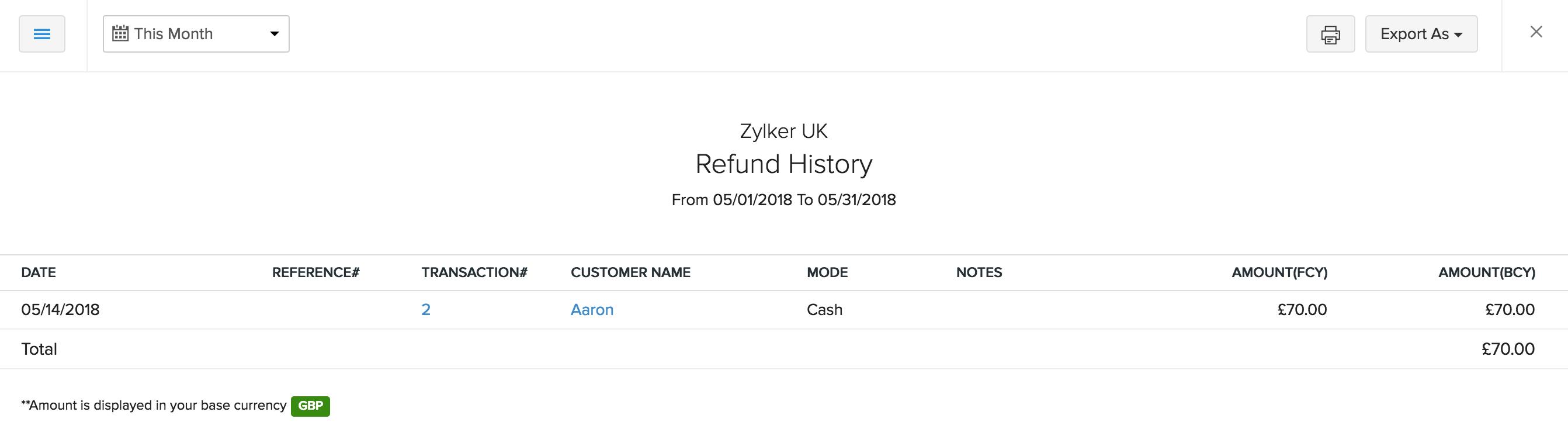 Retainer Refunds