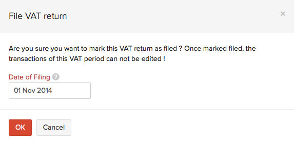 VAT Return Date