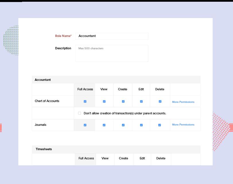 Adding Accountant to Zoho Books - Making Tax Digital Accounting Software   Zoho Books