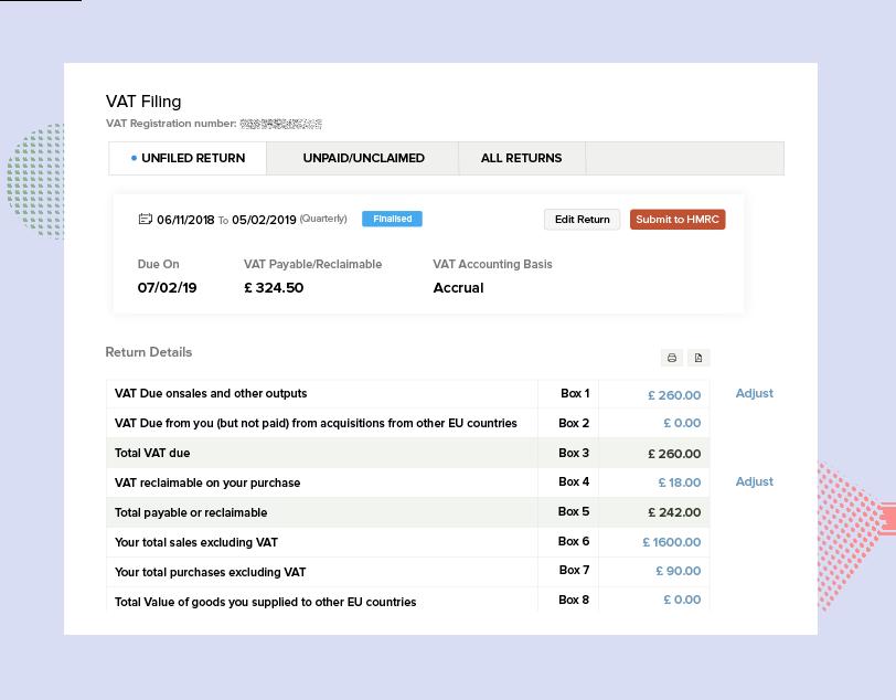 Direct Filing to HMRC - Making Tax Digital Software | Zoho Books