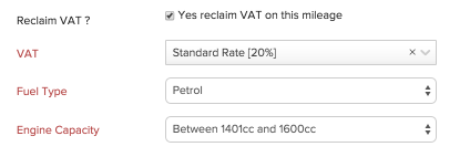 reclaim vat on mileage expense faq zoho books