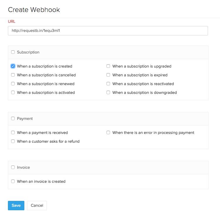 Create Webhook