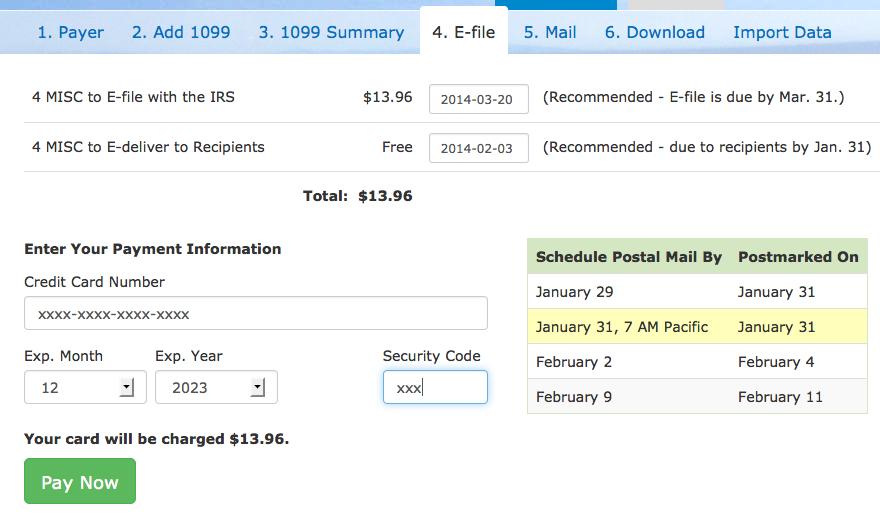 e-file track 1099