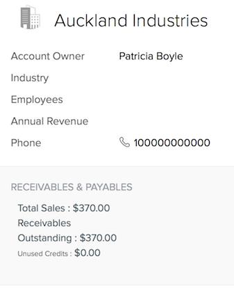 Receivables and Payables summary