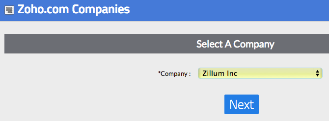 Select Company