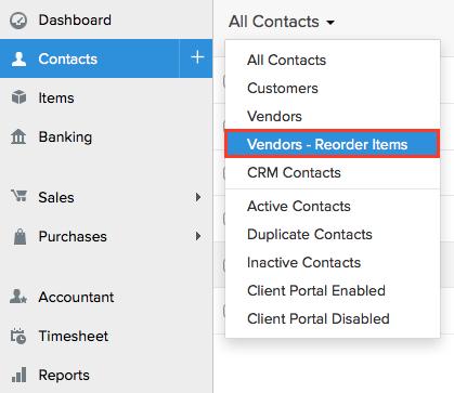 Preferred Vendor in Inventory