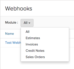 Filter Webhook